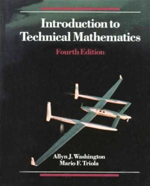 introductory technical mathematics books triola mario f abebooks