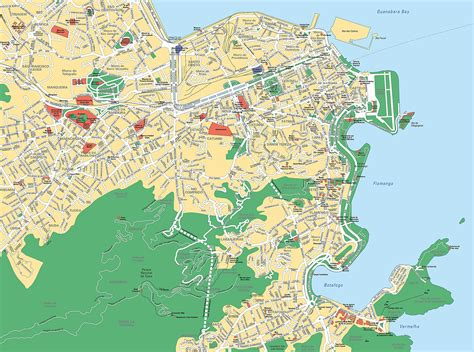 de janeiro map large de janeiro maps for free and print high resolution and detailed maps