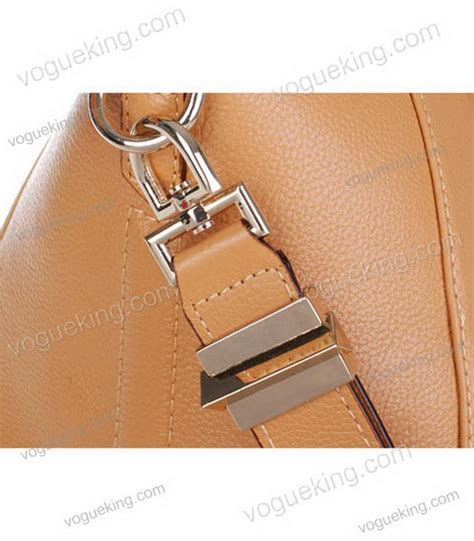 Givenchy 19520 Grade Ori Quality givenchy antigona litchi veins leather bag in apricot