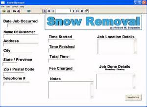 snow removal quote template snow plowing invoice template the knownledge