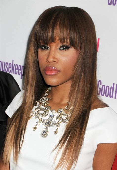 hairstyles bangs straight hair 20 eve s hairstyles celebrity eve s hair style pictures