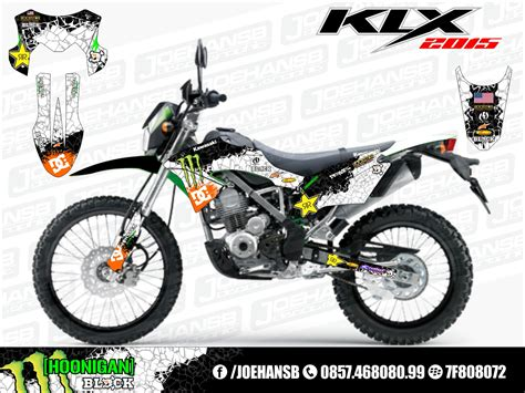 new klx bf se 150 cc 2015 collection joehansb decal graphic