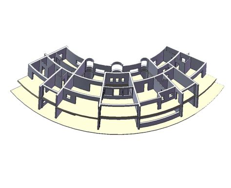 the curve floor plan the curved house the big cottage company