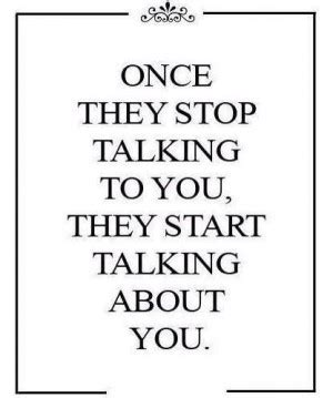 Starts To Detox Once You Stop by Stop Talking About Others Quotes Quotesgram