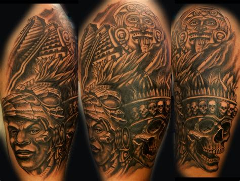 aztec tattoos images aztec tattoos and designs page 255