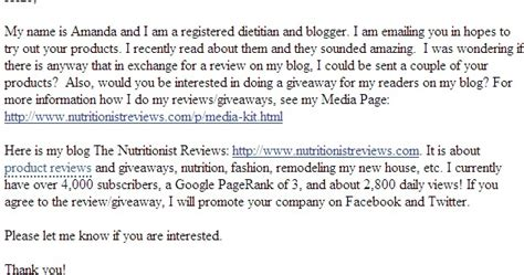 write  product review blog post  nutritionist reviews