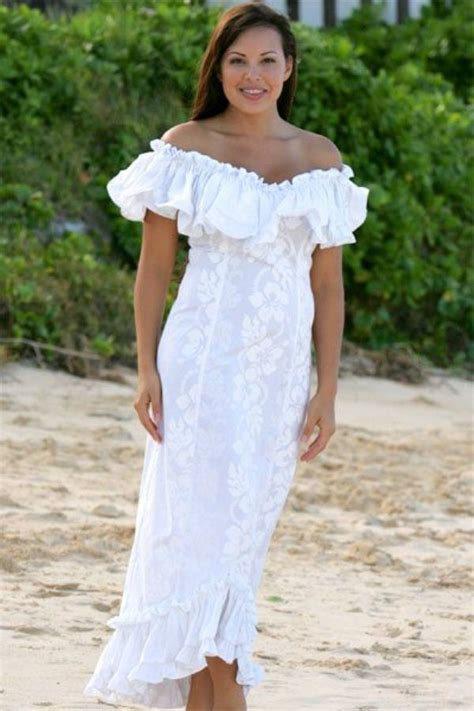 Tropical Style Wedding Dresses by Dresses Hawaiian Wedding Dresses With Sleeves Casual