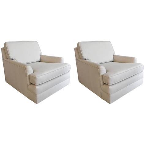 Floating Lounge Chair by Pair Of Harvey Probber Floating Lounge Chairs For Sale At