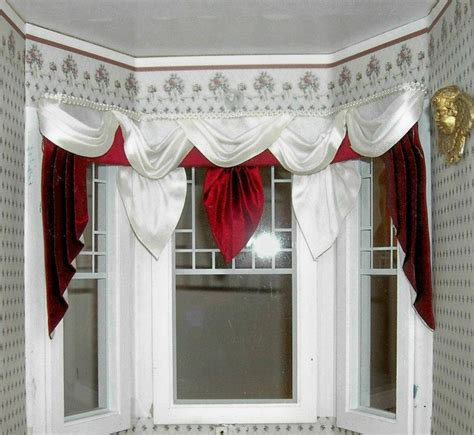 how to make dollhouse curtain rods 1000 images about miniature curtains drapes window