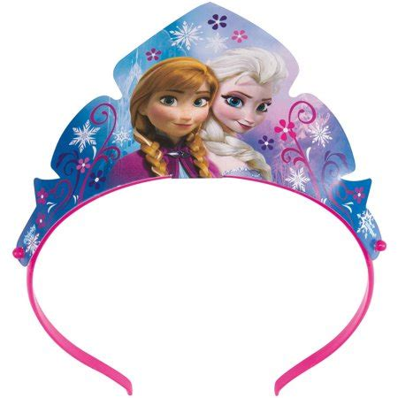 paper disney frozen tiara party favors ct walmartcom
