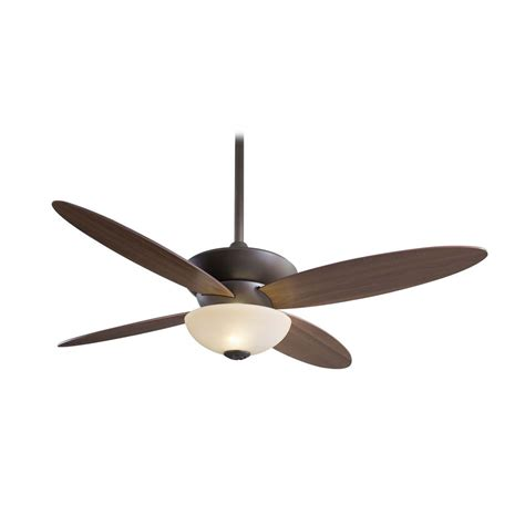 modern white ceiling fan modern ceiling fan with light with white glass in bronze