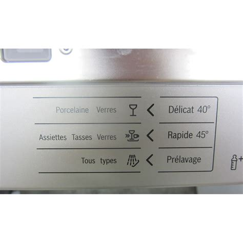 Tiroir à Couverts by Test Bosch Sms69n08ff Lave Vaisselle Ufc Que Choisir