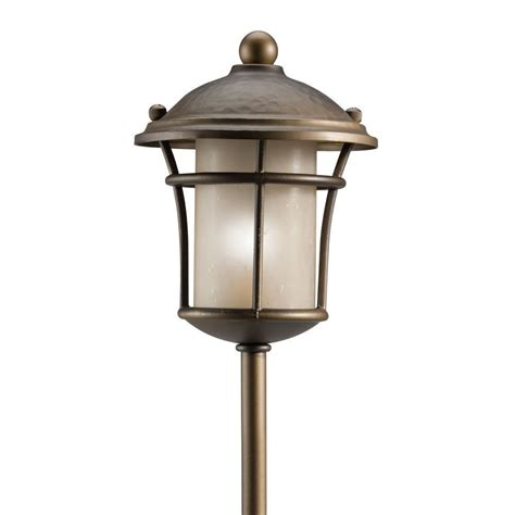 Low Voltage Lighting Outdoor Kichler Landscape Lighting Low Voltage Exterior Landscape Path Light Bronze Ebay