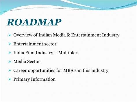 Best Mba For Media And Entertainment by Media And Entertainment Industry