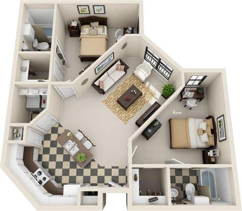 2 Bedroom 2 Bath Apartments by Venue At Northgate Apartments Baton La