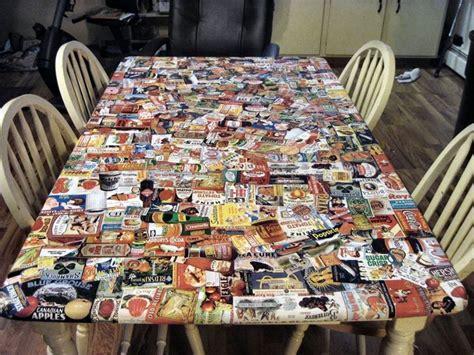 decoupage tavolo arredare con il decoupage abbellire un tavolo decoupage