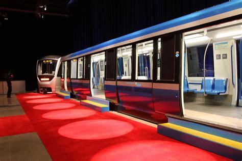 montreal metro new cars new azur m 233 tro soci 233 t 233 de transport de montr 233 al
