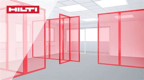 laser for layout how to do layout partitioning using the hilti pm 4 m