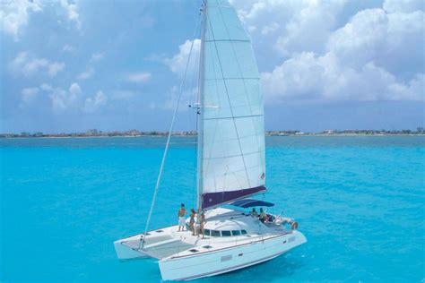 catamaran mexico sail by catamaran to isla mujeres