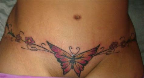 tattoo over body lift scar tummy tuck scar cover up tattoos pinterest tummy