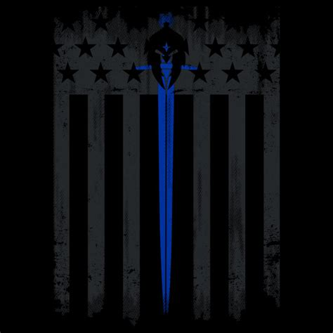 the blue line swat brothers blue line warrior flag performance