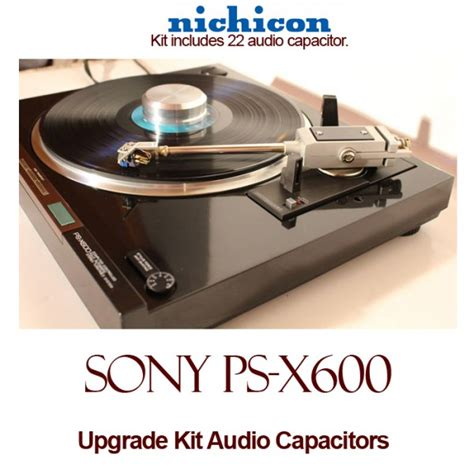 where are nichicon capacitors made sony ps x600 upgrade kit audio capacitors