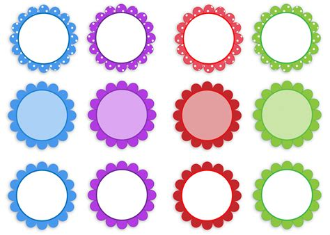 Set Flower flower frames set clipart free stock photo domain