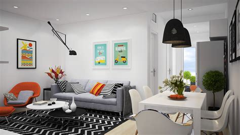 sofa poco domäne scandinavian apartment with adorable and classic colors