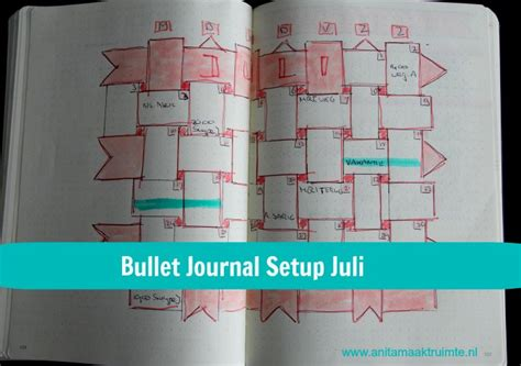 bullet journal setup bullet journal setup juli 2017