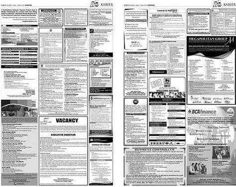 berhati hati dalam memilih lowongan pekerjaan di koran