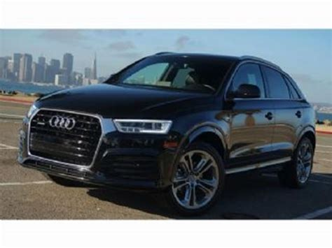 2017 audi q3 2 0t progressiv audi care quattro black