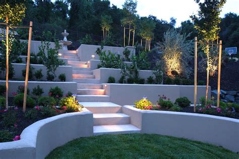 Landscaping Steep Hill Backyard by Steep Backyard Landscaping Garden Ideas
