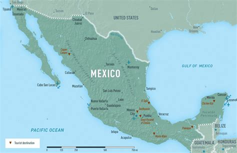 map of mexico vacation spots mexico destinations map mexico map