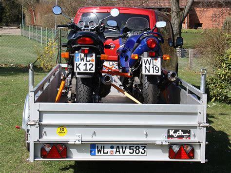 Motorrad Anh Nger 400 Kg by Motorrad Anh 228 Nger Verleih Rottorf De