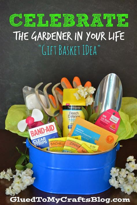 celebrate  gardener   life gift basket idea