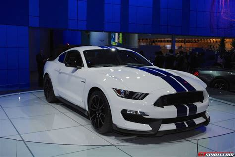 2015 ford mustang gt350 detroit 2015 ford mustang shelby gt350 gtspirit