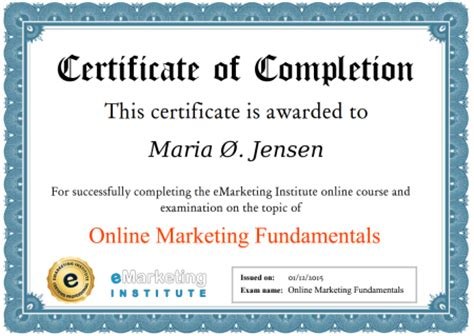 Digital Marketing Certificate Programs by 100 Free Digital Marketing Course And Certification