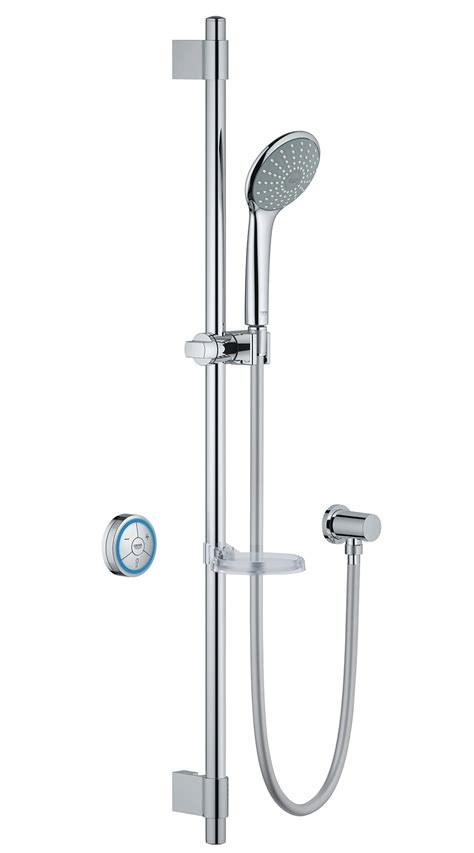 Grohe Shower Set by Grohe Euphoria F Digital Biv Shower Set Chrome 36299000
