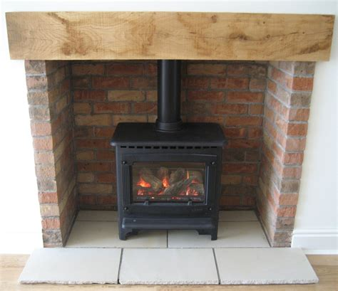 Brick Fireplace Chamber by Gazco Marlborough Gas Stove In Brick Lined Chamber Fusion Heating