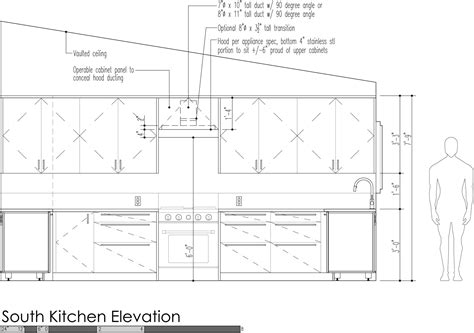 kitchen cabinet heights design strategies for kitchen venting build