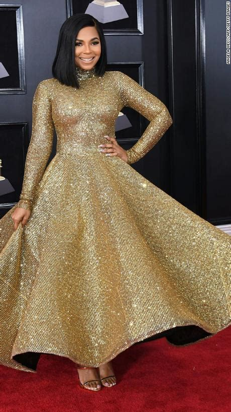 Which Grammy Look Was Most Fab by Carpet Fab Cardi B Ashanti Pink More Dazzle At The