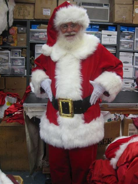 traditional santa claus suit
