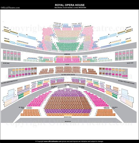 royal opera house seating plan review royal opera house london seat map and prices
