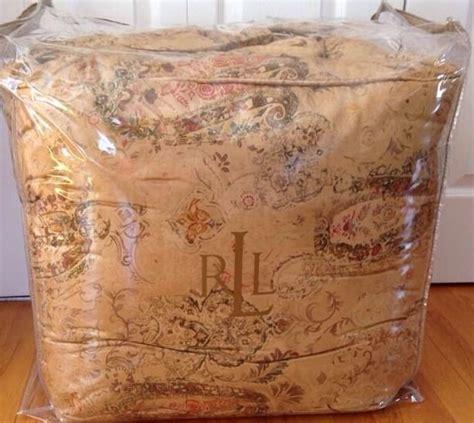 ralph lauren verdonnet comforter ralph lauren verdonnet paisley king comforter nwts 500