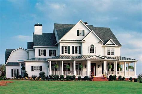 big farm house country style house plan 5 beds 5 5 baths 5466 sq ft