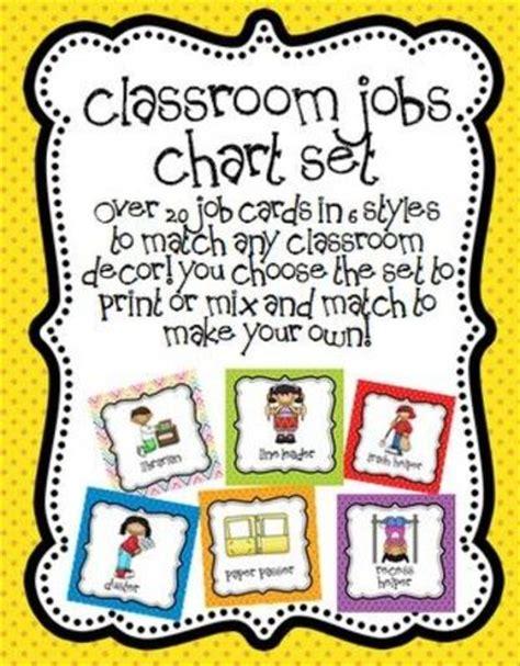 printable job labels preschool job chart labels related keywords preschool