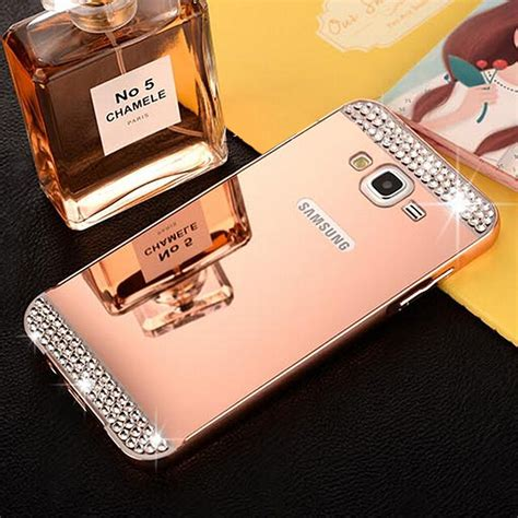 Metal Mirror Alumunium Bumper Slide Samsung Grand Prime aluminum metal mirror pc back cover skin for samsung