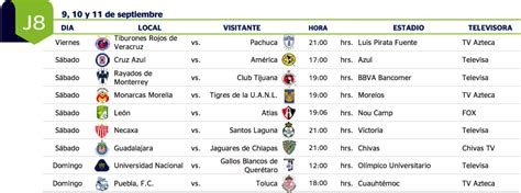 Calendario Liga Mx America 2015 Search Results For Calendario De La Liga Mx 2016 2017
