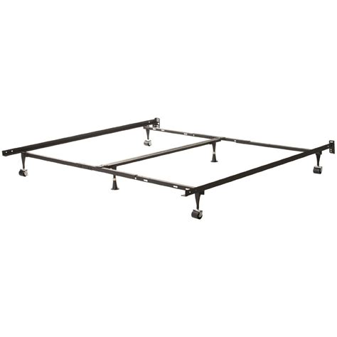 Are Metal Bed Frames Adjustable Universal Adjustable Metal Bed Frame King