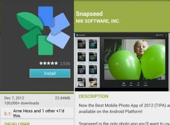 snapseed for android snapseed for android review rating pcmag